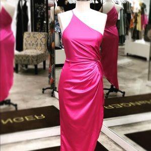 Gorgeous Hot Pink / Magenta Scarf Dress